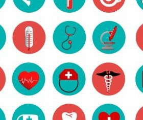Medical Icons free vector graphic