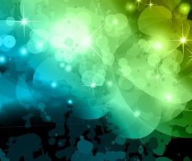 Abstract Bokeh Background vector material