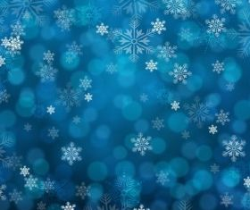 blue snowy background creative vector