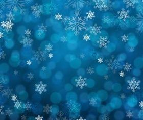 blue snowy background creative vector