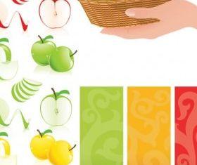 apple graphic vector