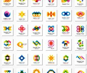 Abstract Business Logotypes 4 vector