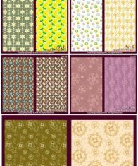 little pattern background vector