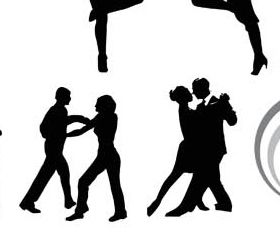 Dancing People Set 4 vector