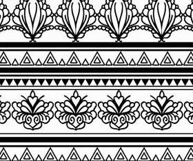 Ornamental Borders 21 shiny vector