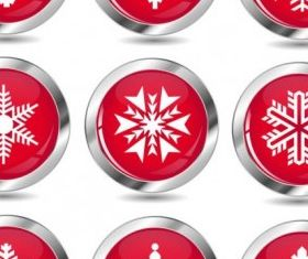 new snow icon creative vector