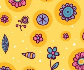 cartoon pattern background 05 vectors