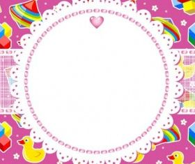 cartoon background 05 vector