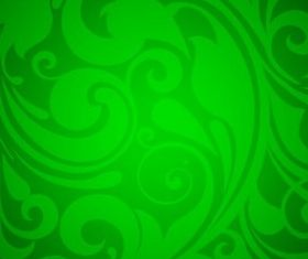 Floral Background Green Graphic creative vector
