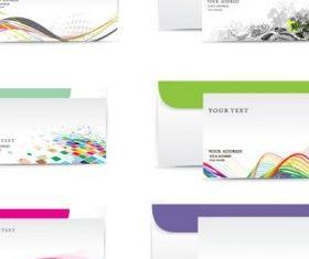 business envelope vector