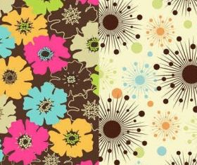 floral flowers background Graphics vectors