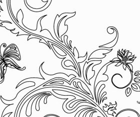 Floral Ornaments 2 vector