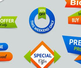 Sale Elements graphic vector