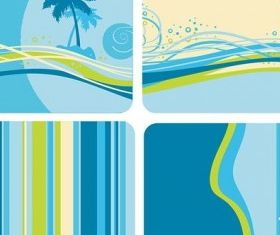 bluegreen color background vector graphic