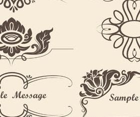 Vintage Elements free 10 vector material