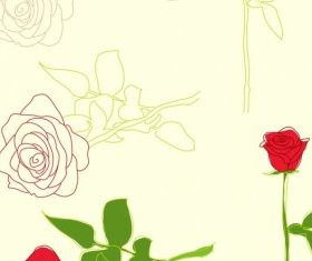 Roses Illustrations vector