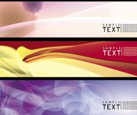 dynamic banners 03 vector