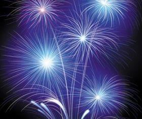 fireworks fireworks set vector