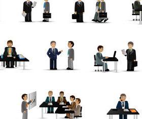 Office Workers Set vectors