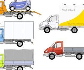truck graphic design vector
