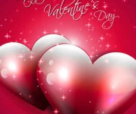 Valentines Backgrounds vector graphic