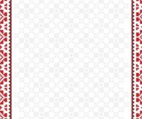 cross stitch patterns 04 vector