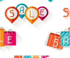 Sale Elements free design vectors