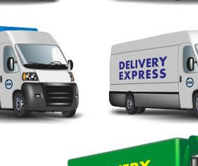 Delivery Symbols graphic vectors