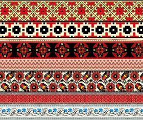 cross stitch patterns 06 vector