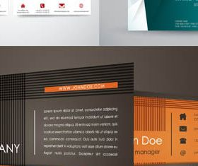 Business Cards Designs 8 Illustration vector
