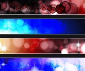 dynamic banners 08 vector