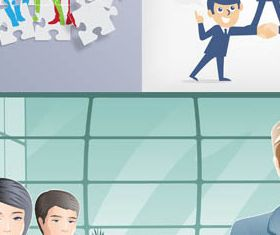 Business Team free vector