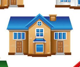 3D Buildings free 2 vector