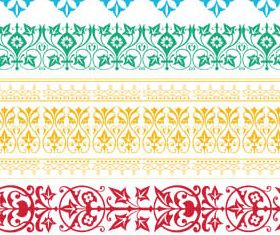 Floral Borders 2 vector material