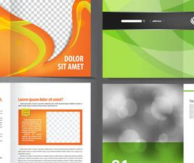 Business Brochures vectors graphic