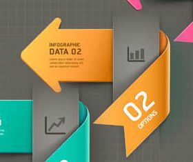 3D Infographics Backgrounds 7 vector