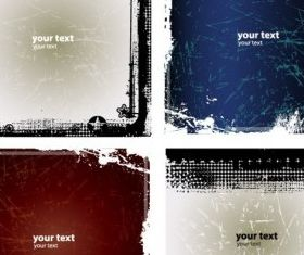 Grunge Backgrounds free vector