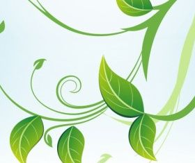 green leaves graphic vectors