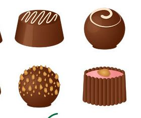 Chocolate Candies graphic vector