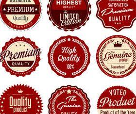 Sale Labels free vector design