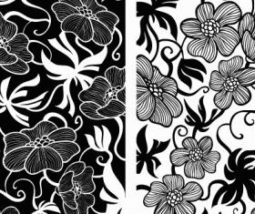 European Deco Floral design vector