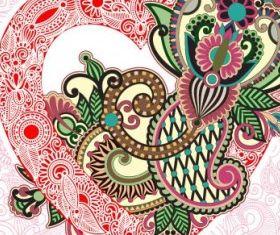 heartshaped valentines card 02 vectors