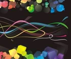 Colorful backgrounds free vector