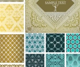 cloth pattern background vector material