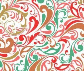 Floral Design Background shiny vector