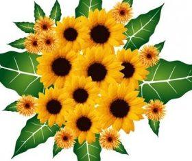 Flower Bouquet creative vector