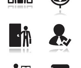 Human Resources Icons Mix 2 vector