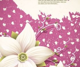floral background shading 01 vector