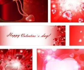romantic valentine day vectors graphic