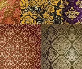 fine background pattern vectors